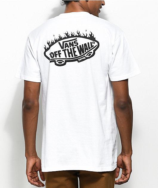 Vans x Thrasher White Pocket T-Shirt