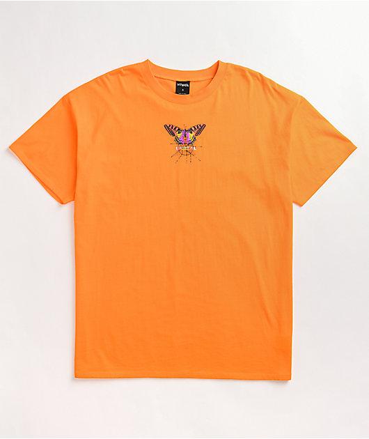 Vitriol Augusta Butterfly Orange T-Shirt