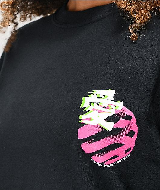 Vitriol Crash & Burn Black Long Sleeve T-Shirt