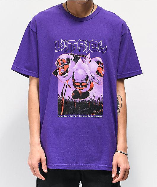 Vitriol Extinction camiseta morada