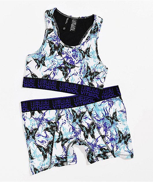 Vitriol Gilly Butterfly Boyshort Underwear