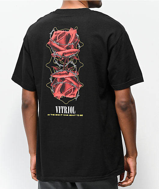 Vitriol In The End Black T-Shirt