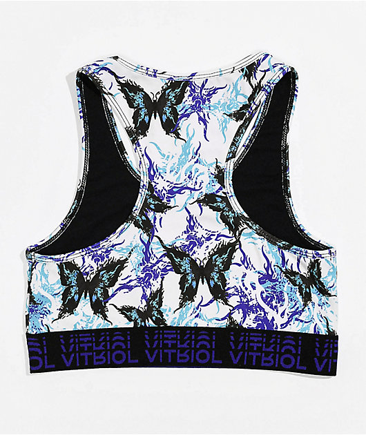 Vitriol Jill Butterfly Sports Bra
