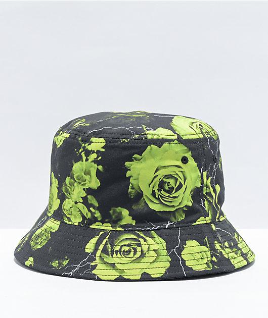 Vitriol Lightning Rose Black Bucket Hat