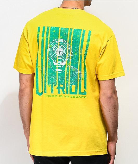 Vitriol No Escape camiseta amarilla