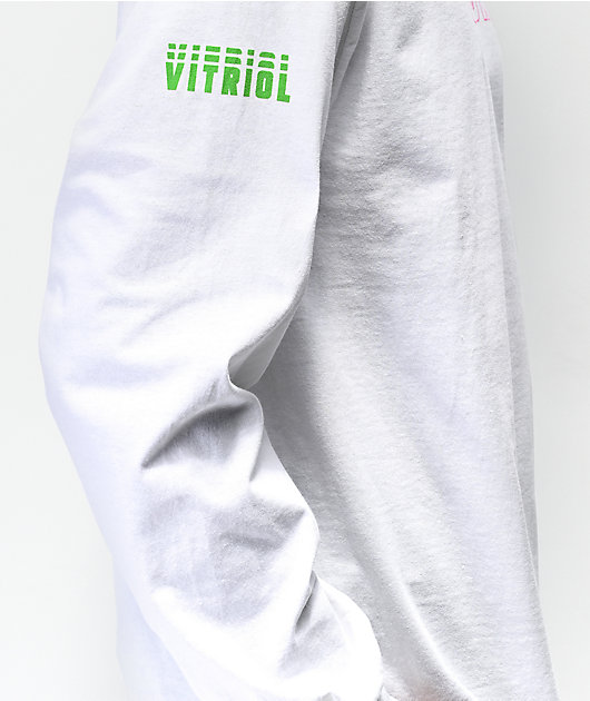 Vitriol Unknown White Long Sleeve T-Shirt