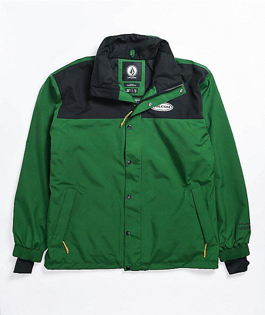 Volcom Arthur Longo Gore-Tex Forest Green Jacket