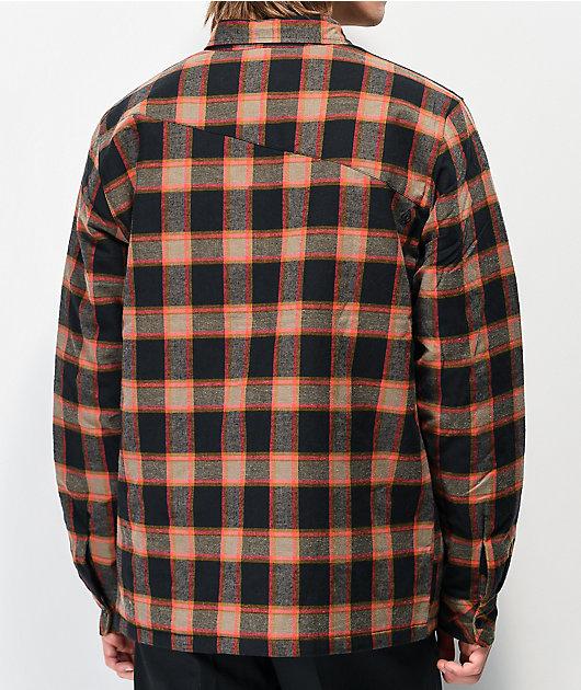Volcom Belgrade Black Flannel Jacket