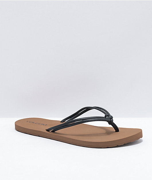 Volcom Forever And Ever II Black Sandals