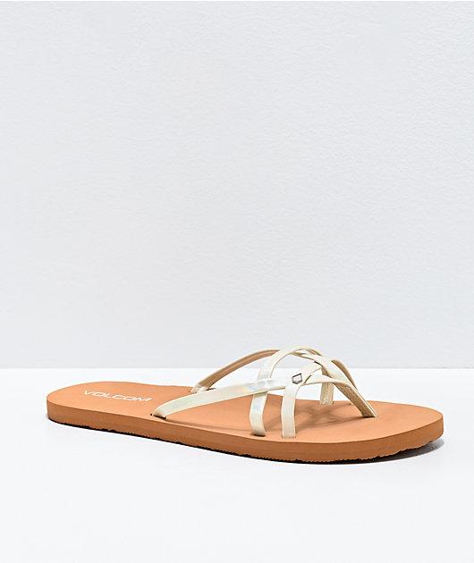 Volcom Lookout Beach Glow Thong Sandals