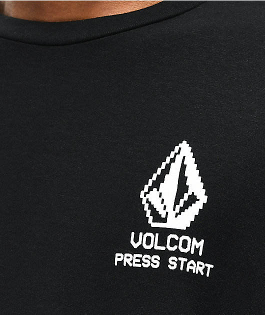 Volcom New High Score Black Long Sleeve T-Shirt