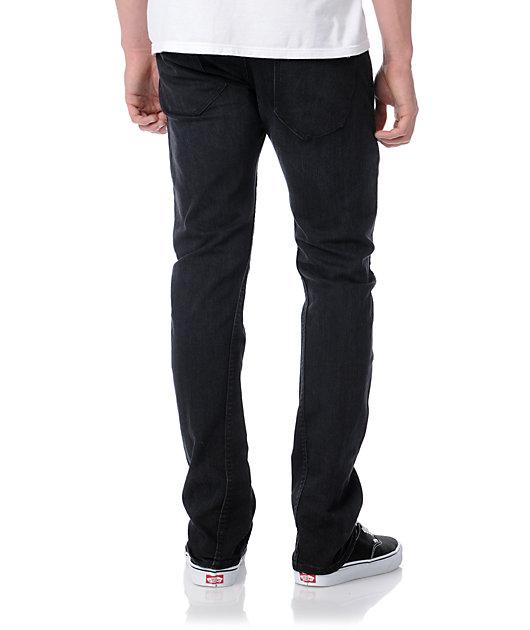 Volcom Slergo Black Skinny Jeans Zumiez