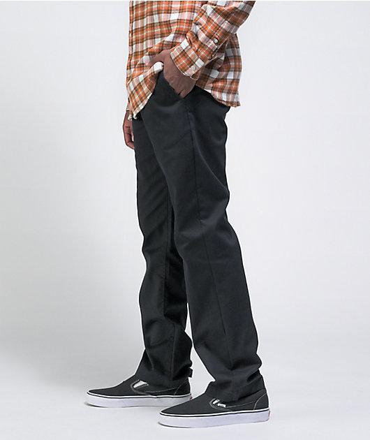 Volcom Solver Slim Fit Black Denim Jeans