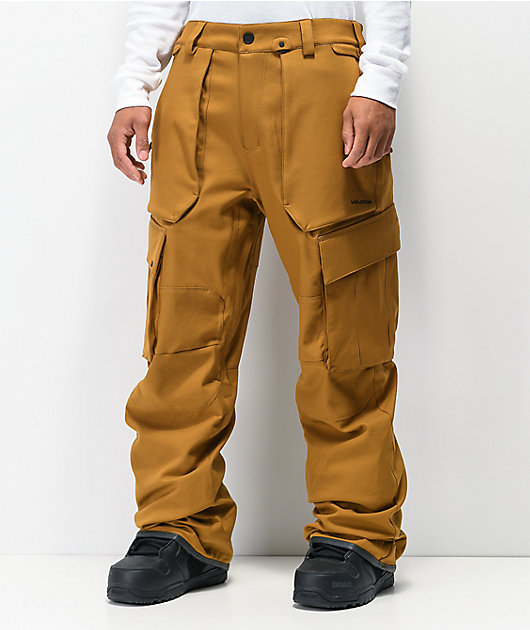 Volcom V. Co Twenty One Caramel 15k Snowboard Pants