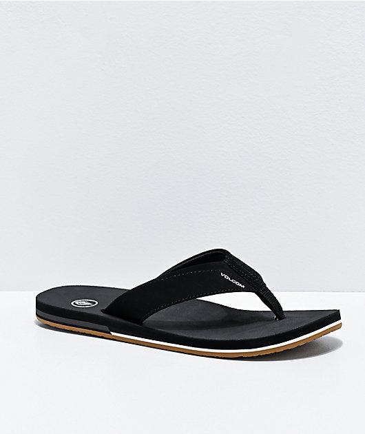 Volcom Victor Black Sandals