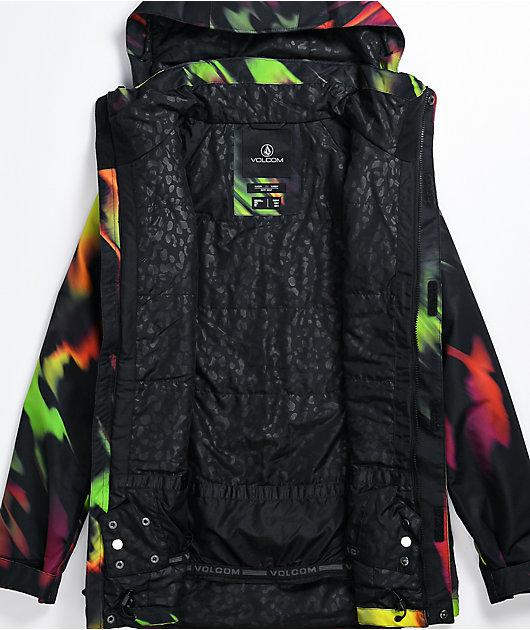 Volcom Westland Acid Yellow 10K Snowboard Jacket