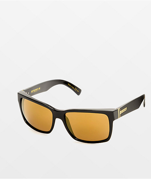 Von Zipper Elmore Black Satin & Gold gafas de sol