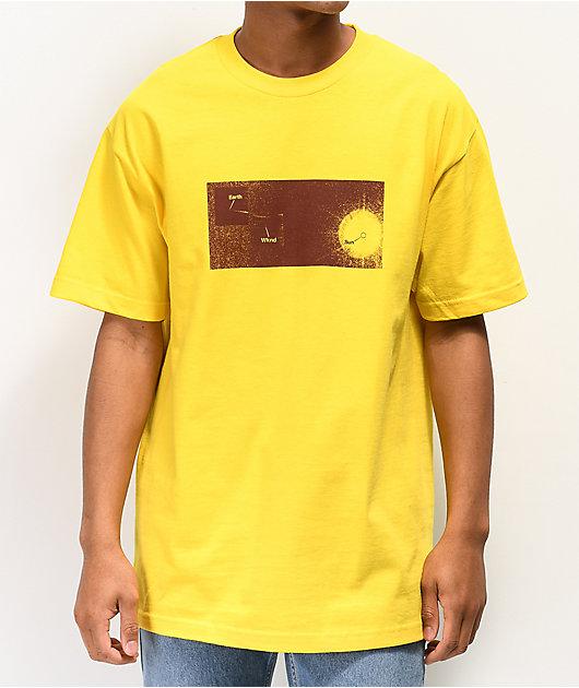 WKND Out Of This World camiseta amarilla