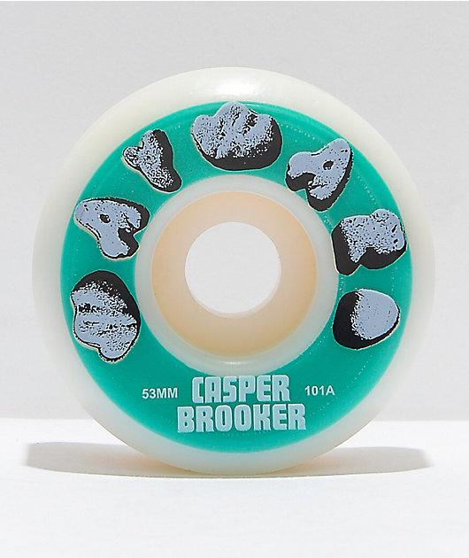 Wayward Wheels Brooker 53mm 101a Skateboard Wheels