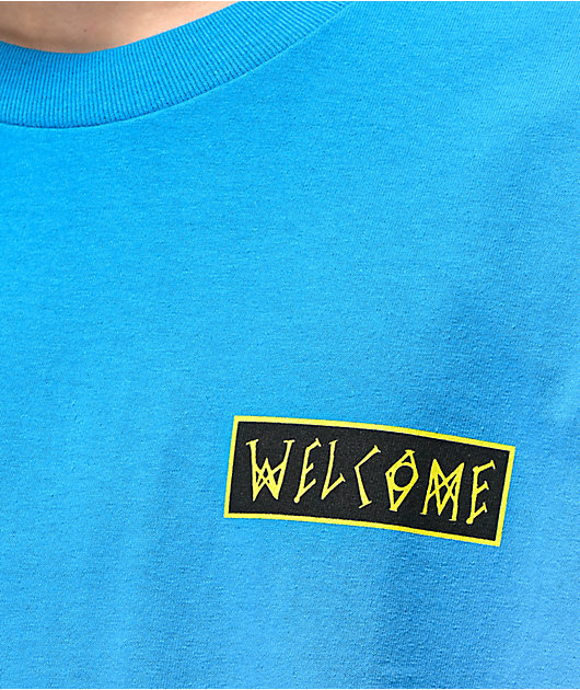 Welcome Balance Turquoise T-Shirt