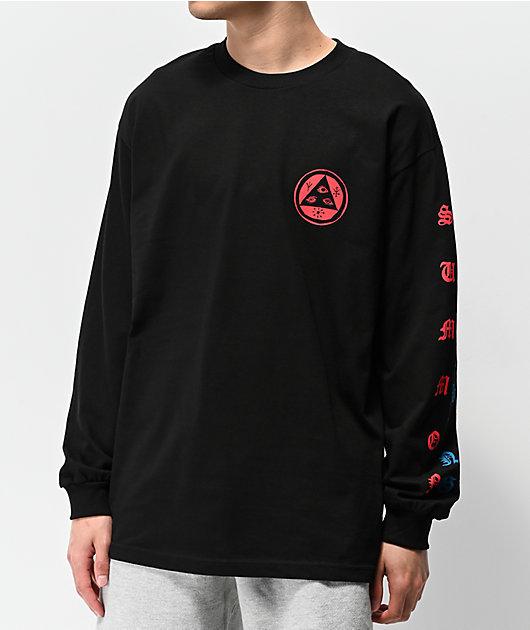 Welcome Beckon Black Long Sleeve T-Shirt