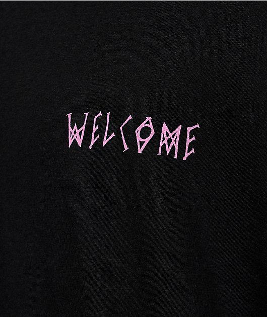 Welcome Latin Talisman Black T-Shirt