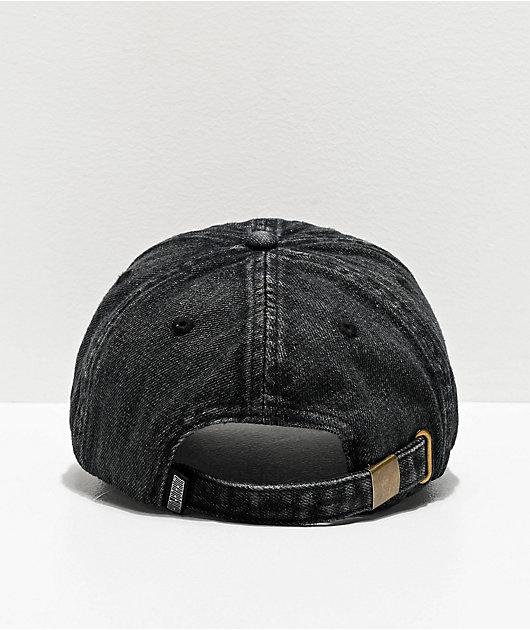 Whadafunk Anti-You Black Washed Strapback Hat