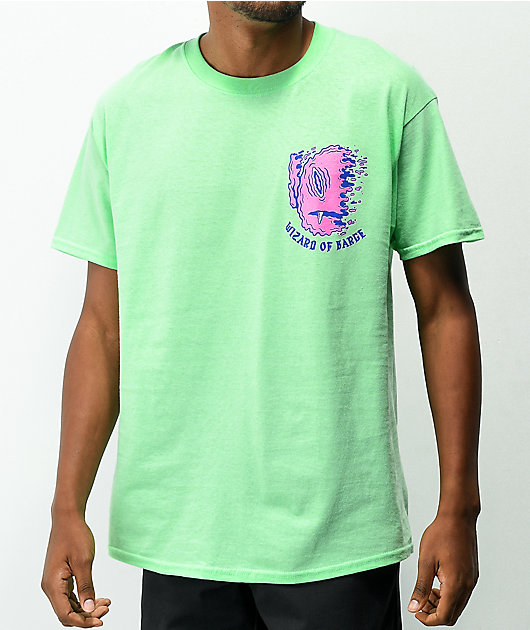 Wizard of Barge Someone Different Green T-Shirt
