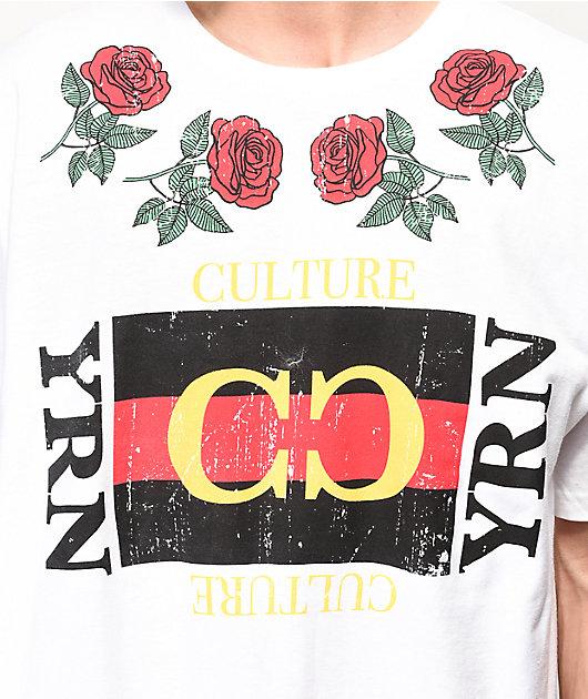 YRN Culture Box White T-Shirt
