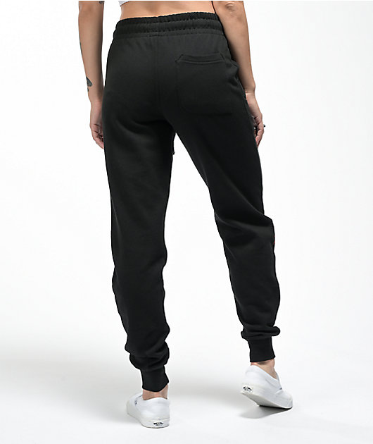 Your Highness Chasing Dragon Black Jogger Sweatpants