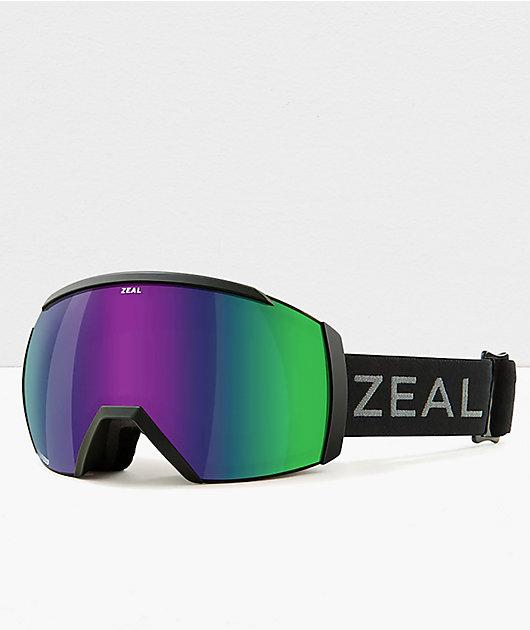 Zeal Hemisphere Dark Night & Jade Snowboard Goggles