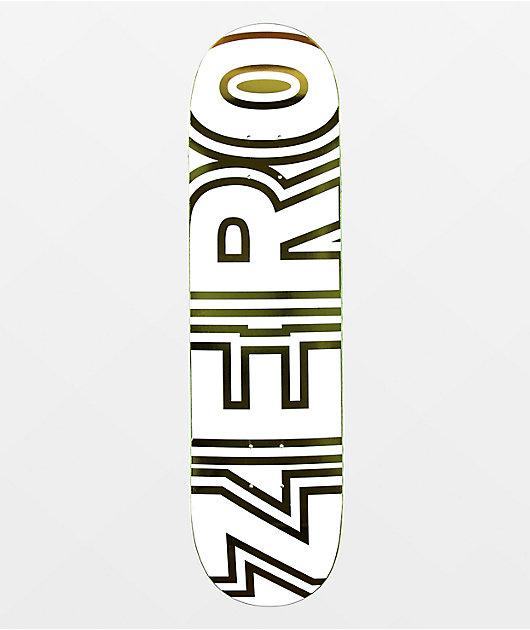 Zero Bold White & Gold 8.25