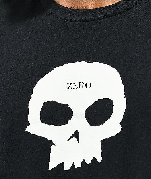 Zero Single Skull Black T-Shirt