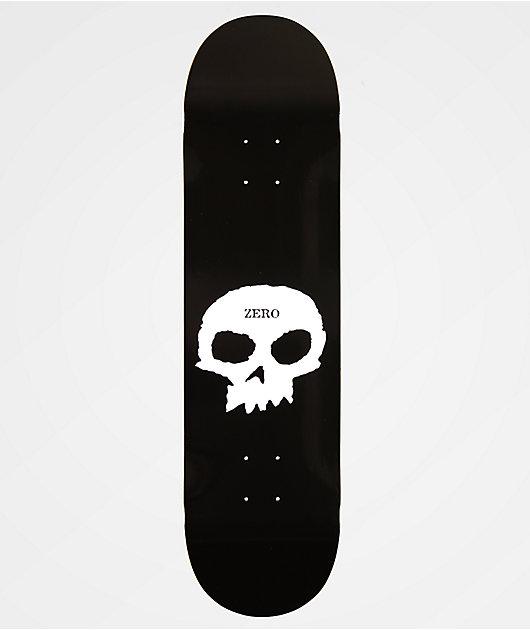 Zero Single Skull Skateboard Deck