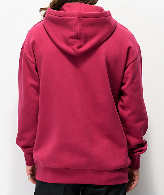Zine Alt Anemone sudadera con capucha roja