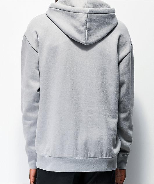 Zine Alt Light Grey Hoodie