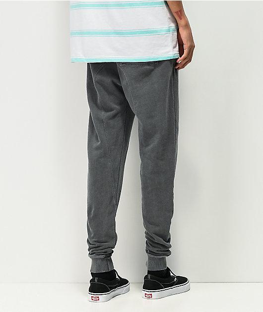 Zine Cover Charcoal Jogger Sweatpants