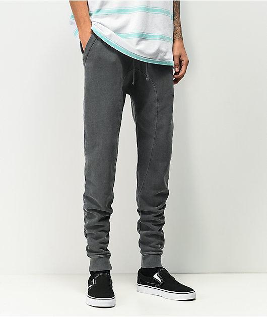 Zine Cover jogger pantalones deportivos negros
