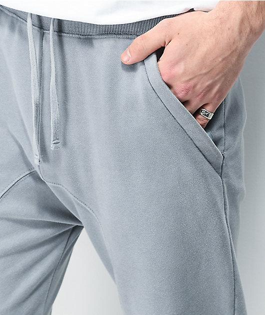 Zine Cover joggers con lavado azul