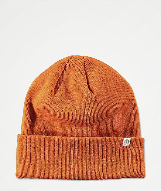 Zine Essential Rust Orange Beanie