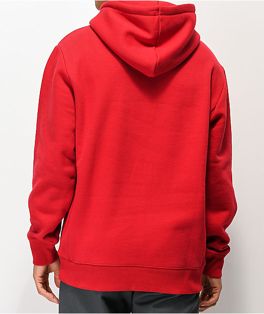 Zine Manor Red Hoodie