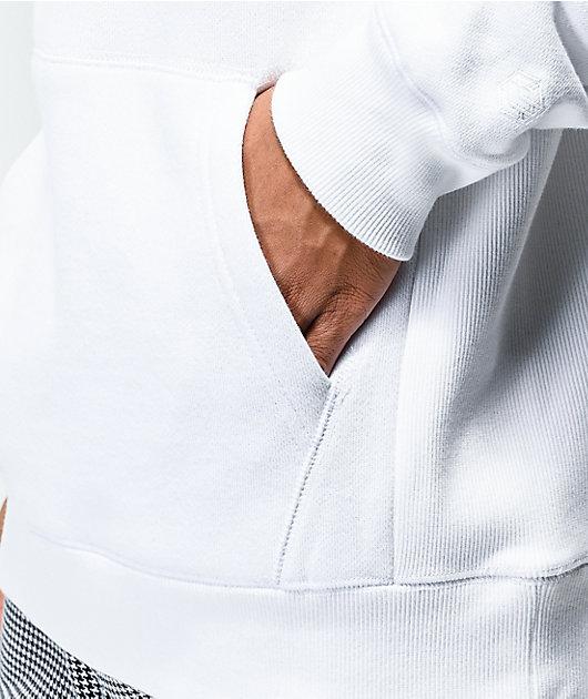 Zine Manor sudadera con capucha blanca