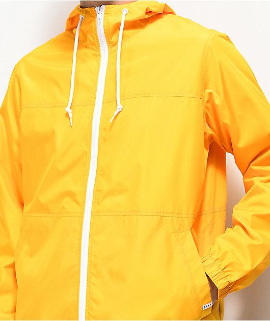 Zine Marathon Gold Windbreaker Jacket