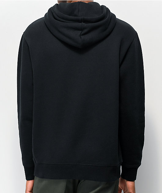 Zine Peel sudadera con capucha negra