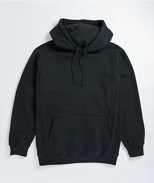 Zine Safety sudadera con capucha negra