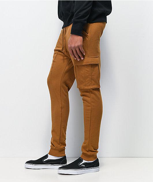 Zine Tobacco jogger pantalones deportivos de polar