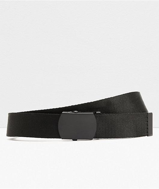 Zine Webster Black Web Belt