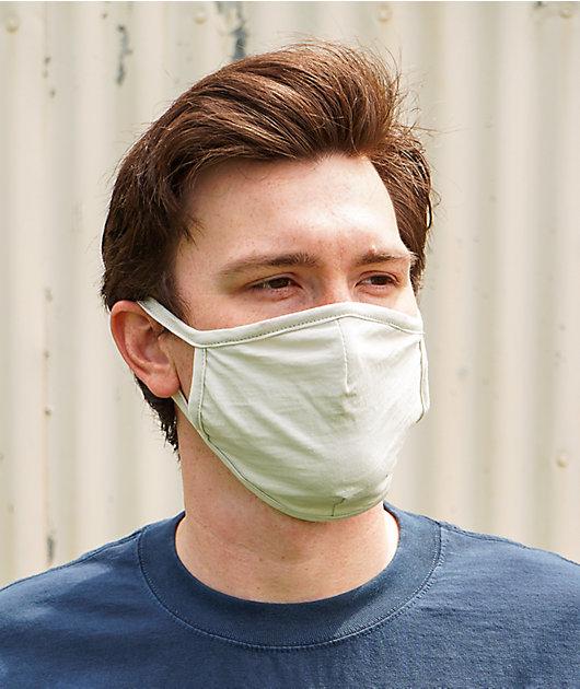 Zine White Face Mask