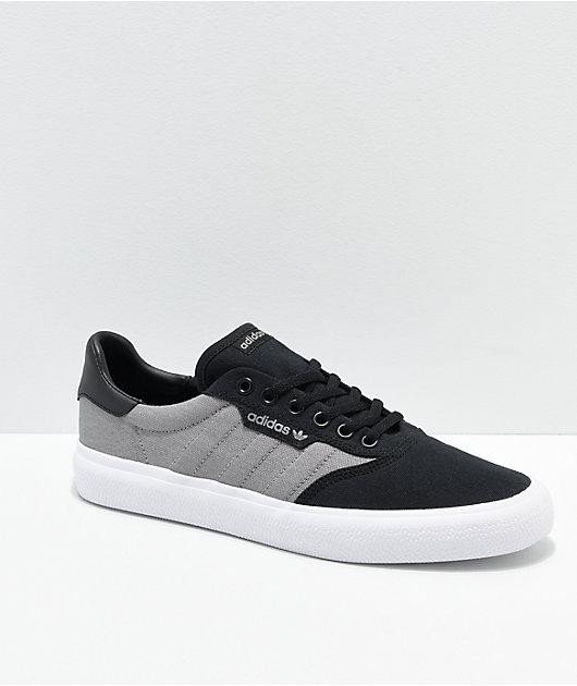 adidas 3MC Black, Grey \u0026 White Shoes
