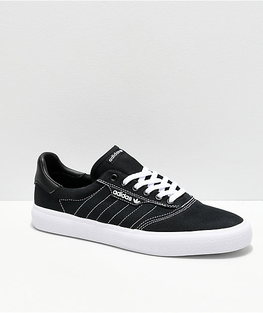 adidas 3MC Black & White Contrast Canvas Shoes